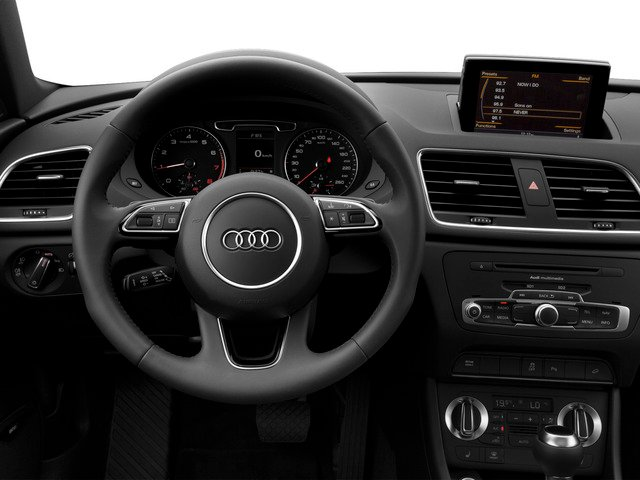 2015 Audi Q3 Prices and Values Utility 4D 2.0T Prestige AWD driver's dashboard