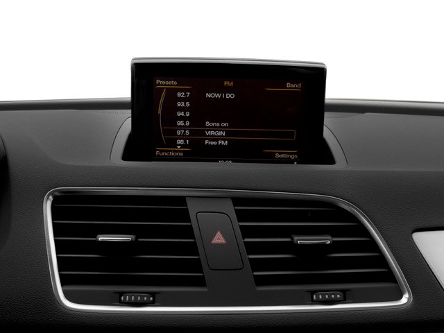 2015 Audi Q3 Prices and Values Utility 4D 2.0T Prestige AWD stereo system