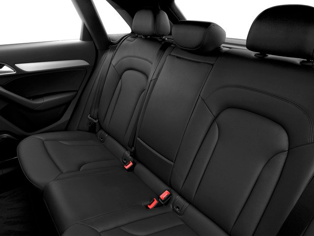 2015 Audi Q3 Prices and Values Utility 4D 2.0T Prestige 2WD backseat interior