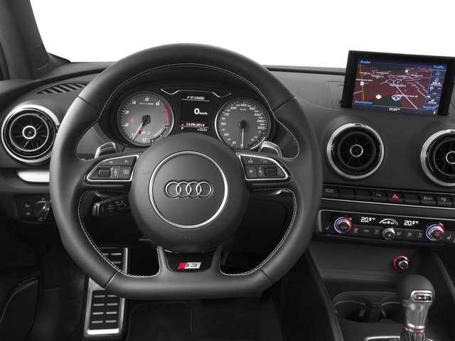 2015 Audi S3 Pictures S3 Sedan 4D Prestige AWD I4 Turbo photos driver's dashboard