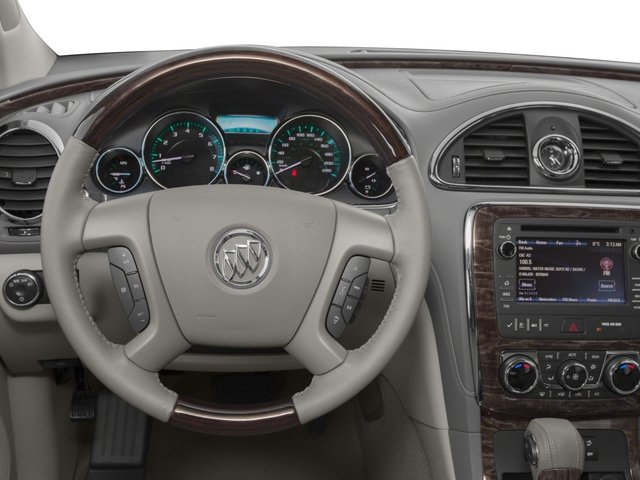 2015 Buick Enclave Prices and Values Utility 4D Leather AWD V6 driver's dashboard