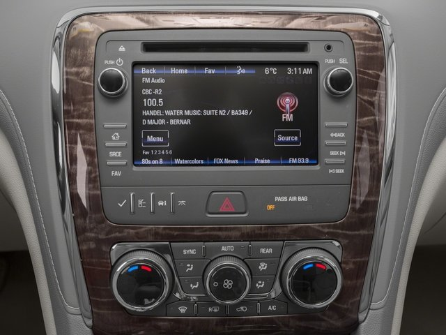 2015 Buick Enclave Prices and Values Utility 4D Leather AWD V6 stereo system