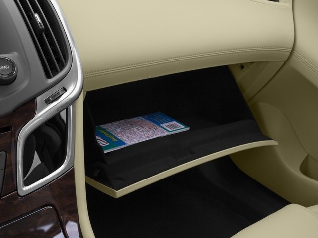 2015 Buick LaCrosse Prices and Values Sedan 4D Leather I4 Hybrid glove box