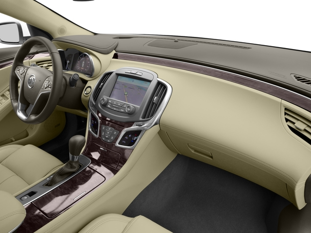 2015 Buick LaCrosse Prices and Values Sedan 4D Leather I4 Hybrid passenger's dashboard