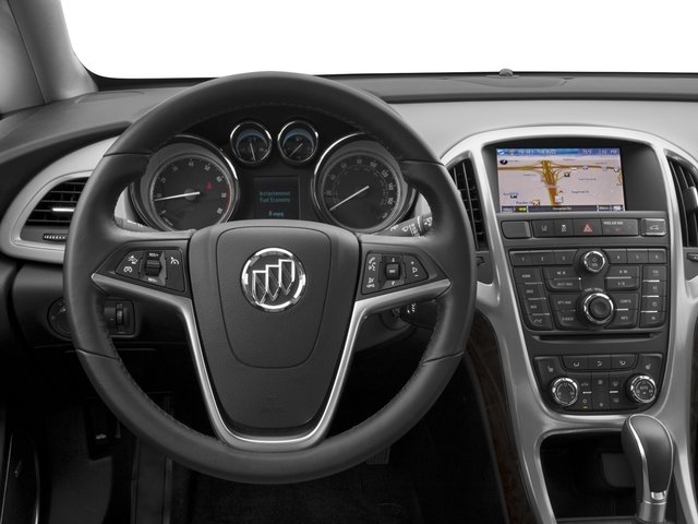 2015 Buick Verano Pictures Verano Sedan 4D I4 photos driver's dashboard