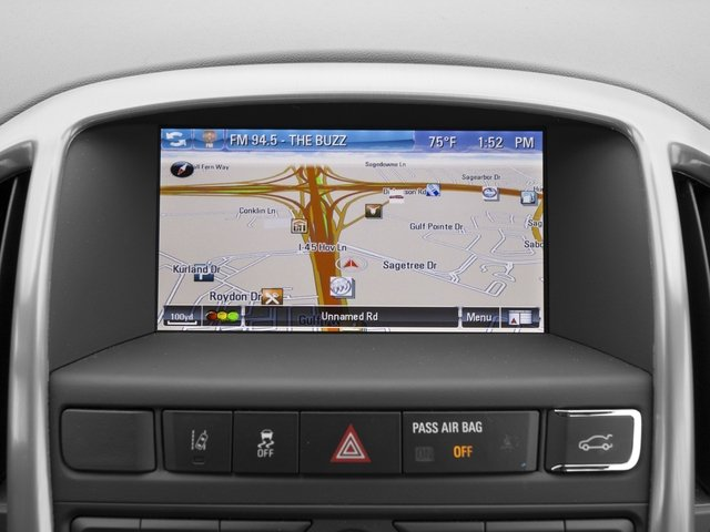 2015 Buick Verano Pictures Verano Sedan 4D I4 photos navigation system