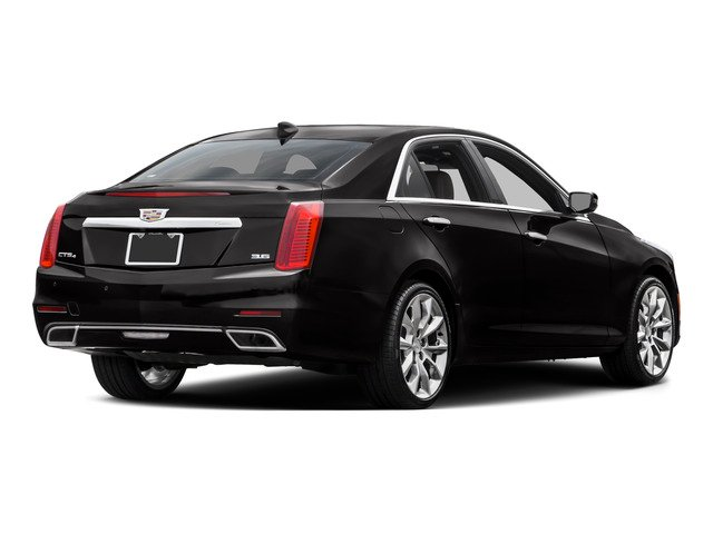 2015 Cadillac CTS Sedan Prices and Values Sedan 4D Performance AWD I4 Turbo side rear view