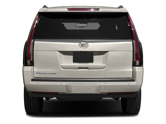 2015 Cadillac Escalade Prices and Values Utility 4D Platinum AWD V8 rear view