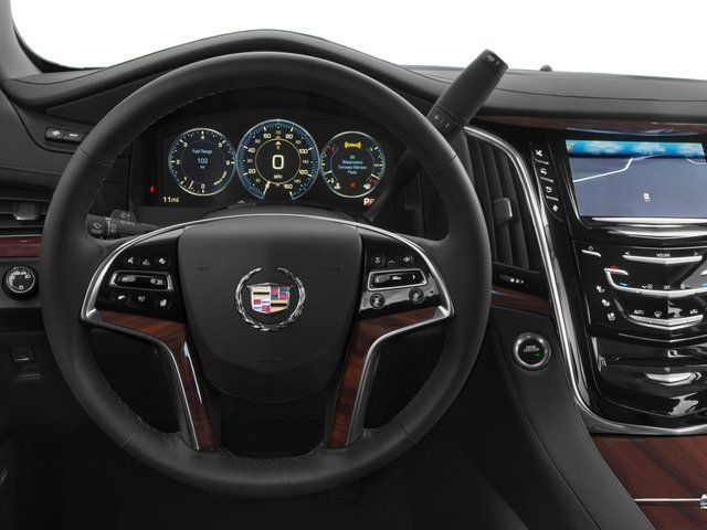 2015 Cadillac Escalade Prices and Values Utility 4D Platinum AWD V8 driver's dashboard