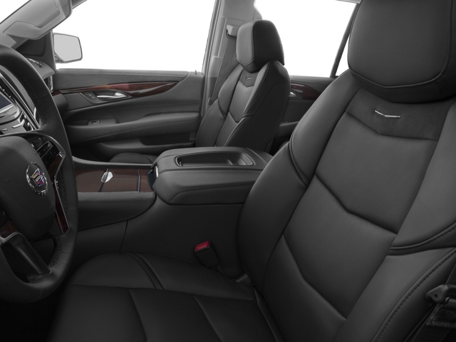 2015 Cadillac Escalade Prices and Values Utility 4D Platinum AWD V8 front seat interior