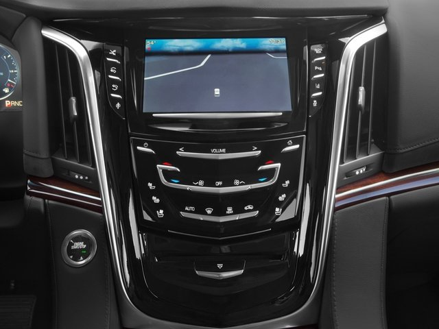 2015 Cadillac Escalade Prices and Values Utility 4D Platinum AWD V8 stereo system