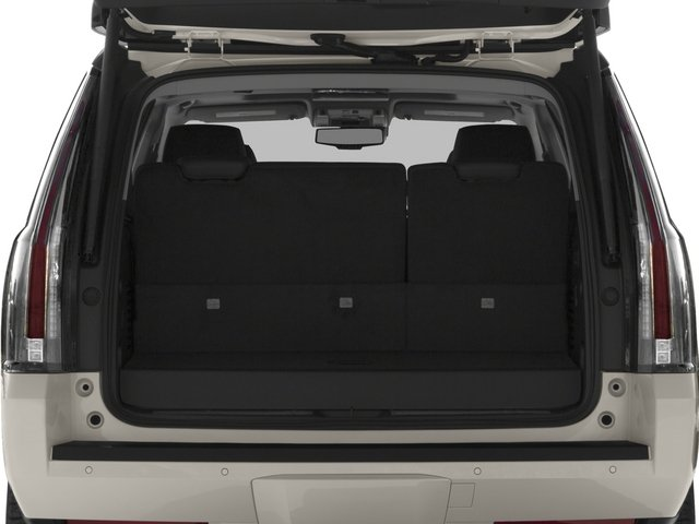2015 Cadillac Escalade Prices and Values Utility 4D Platinum AWD V8 open trunk