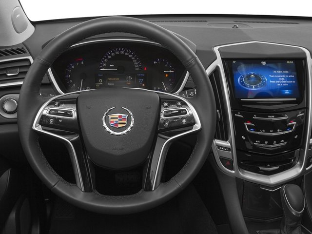 2015 Cadillac SRX Prices and Values Utility 4D Premium AWD V6 driver's dashboard