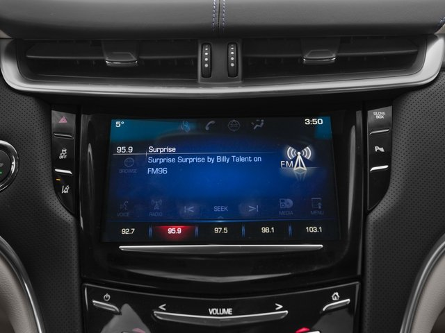 2015 Cadillac XTS Prices and Values Sedan 4D Platinum V6 stereo system