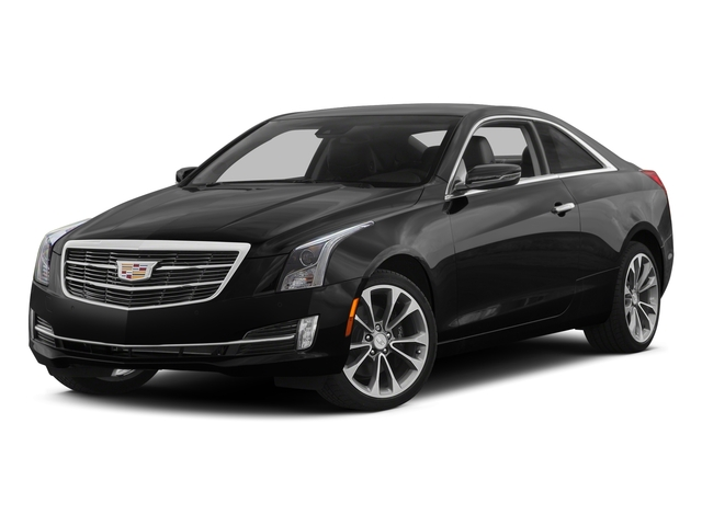 2015 Cadillac ATS Coupe Prices and Values Coupe 2D AWD I4 Turbo side front view