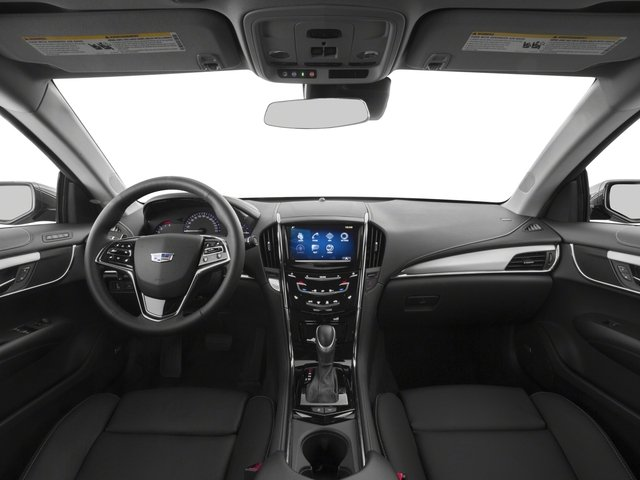 2015 Cadillac ATS Coupe Pictures ATS Coupe 2D Premium AWD V6 photos full dashboard