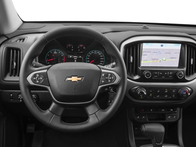 2015 Chevrolet Colorado Prices and Values Crew Cab Z71 4WD driver's dashboard