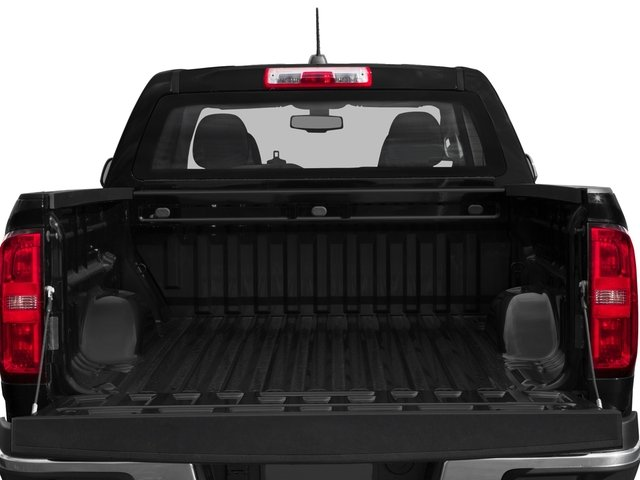 2015 Chevrolet Colorado Prices and Values Crew Cab Z71 4WD open trunk