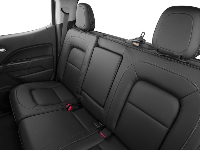 2015 Chevrolet Colorado Prices and Values Crew Cab Z71 4WD backseat interior