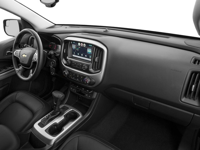 2015 Chevrolet Colorado Prices and Values Crew Cab Z71 4WD passenger's dashboard