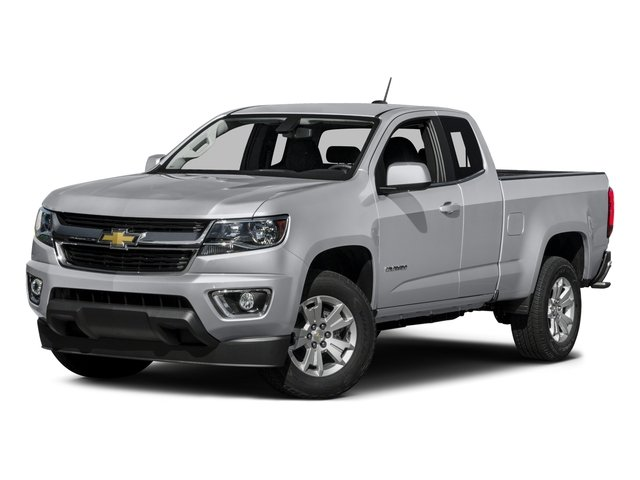 2015 Chevrolet Colorado Pictures Colorado Extended Cab LT 4WD photos side front view