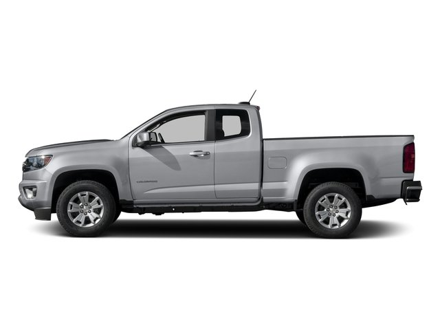 2015 Chevrolet Colorado Pictures Colorado Extended Cab LT 4WD photos side view