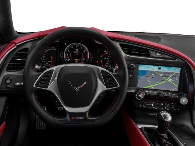 2015 Chevrolet Corvette Prices and Values Coupe 2D Z06 3LZ V8 driver's dashboard