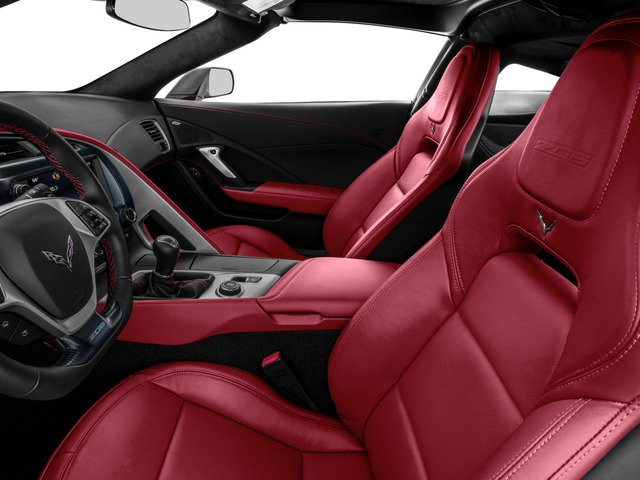 2015 Chevrolet Corvette Prices and Values Coupe 2D Z06 3LZ V8 front seat interior