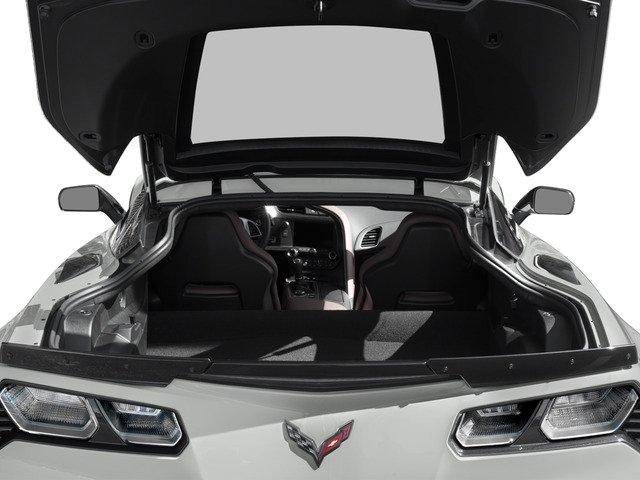 2015 Chevrolet Corvette Prices and Values Coupe 2D Z06 3LZ V8 open trunk