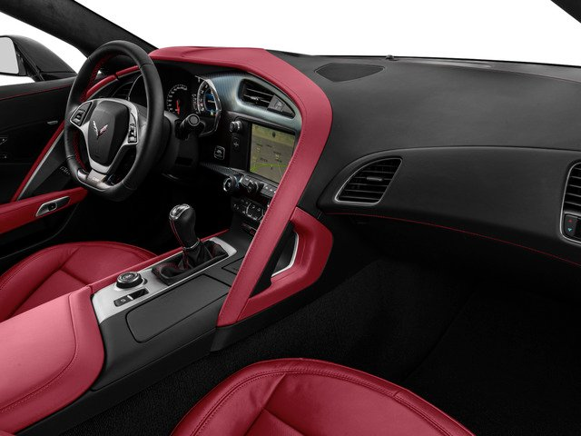 2015 Chevrolet Corvette Prices and Values Coupe 2D Z06 3LZ V8 passenger's dashboard