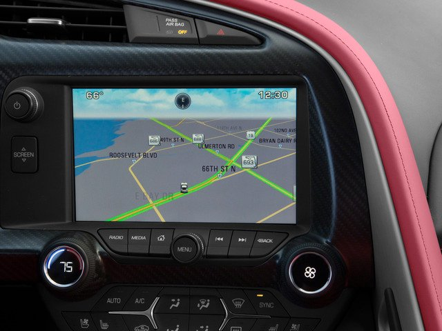 2015 Chevrolet Corvette Prices and Values Coupe 2D Z06 3LZ V8 navigation system