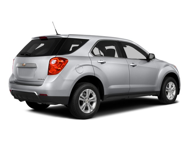 2015 Chevrolet Equinox Pictures Equinox Utility 4D LS AWD I4 photos side rear view