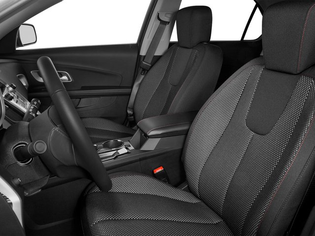 2015 Chevrolet Equinox Prices and Values Utility 4D LT 2WD I4 front seat interior