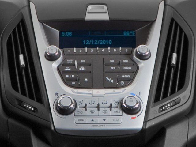 2015 Chevrolet Equinox Prices and Values Utility 4D LT 2WD I4 stereo system