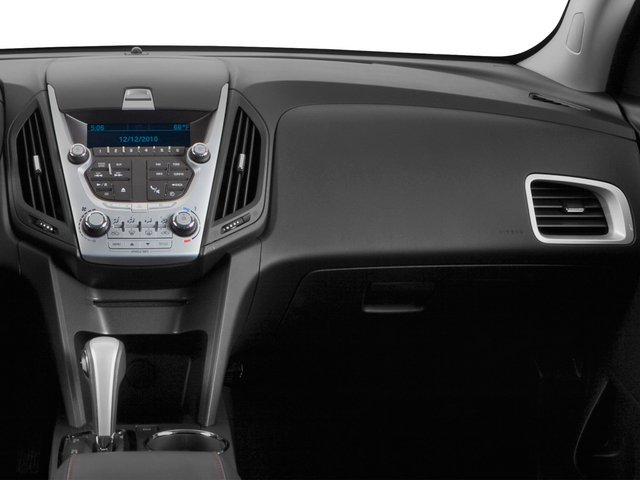 2015 Chevrolet Equinox Prices and Values Utility 4D LT 2WD I4 passenger's dashboard