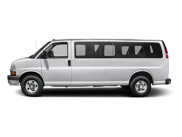 2015 Chevrolet Express Passenger Pictures Express Passenger Express Van LS 135 photos side view