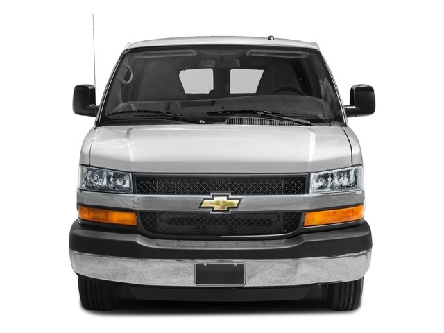 2015 Chevrolet Express Passenger Prices and Values Extended Express Van LT 155  front view