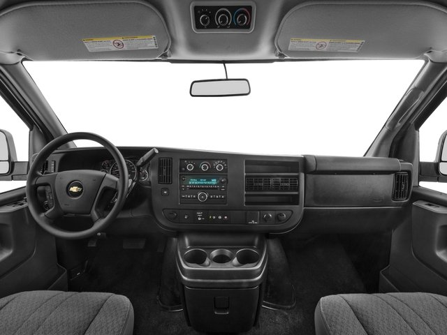 2015 Chevrolet Express Passenger Prices and Values Express Van LS 135  full dashboard