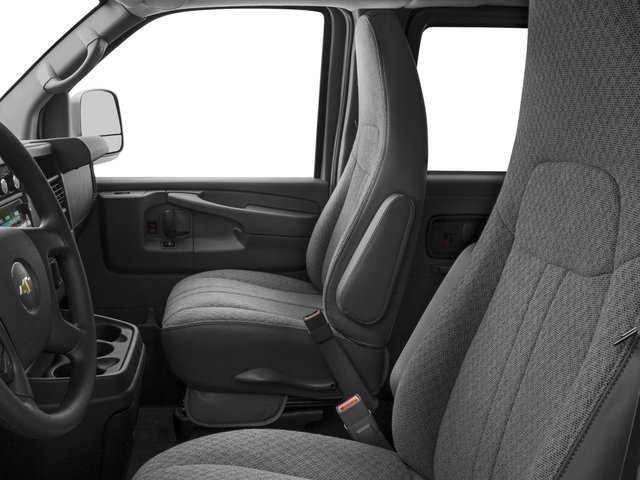 2015 Chevrolet Express Passenger Prices and Values Express Van LS 135  front seat interior