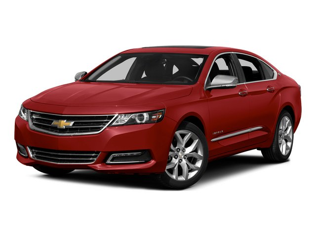 2015 Chevrolet Impala Pictures Impala Sedan 4D LT V6 photos side front view