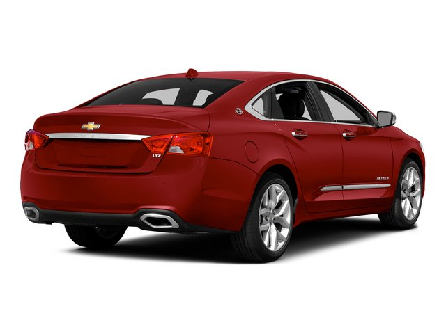 2015 Chevrolet Impala Pictures Impala Sedan 4D LT V6 photos side rear view