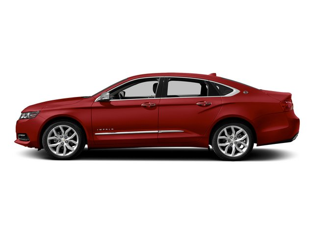 2015 Chevrolet Impala Pictures Impala Sedan 4D LT V6 photos side view