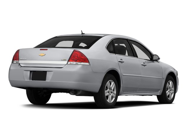 2015 Chevrolet Impala Limited Prices and Values Sedan 4D LS V6 side rear view