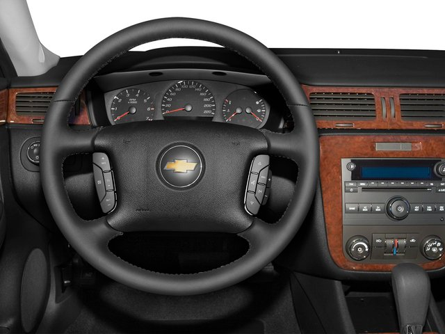 2015 Chevrolet Impala Limited Prices and Values Sedan 4D LS V6 driver's dashboard