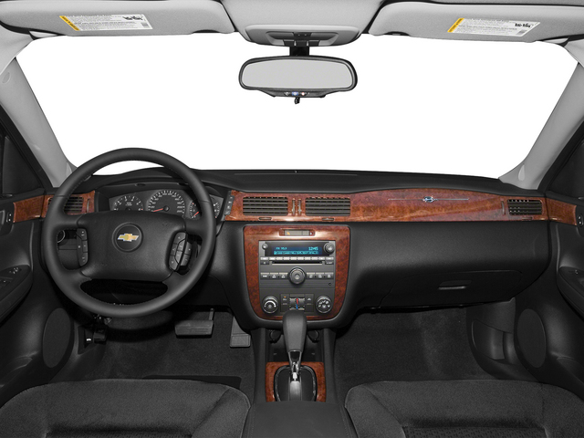 2015 Chevrolet Impala Limited Prices and Values Sedan 4D LS V6 full dashboard
