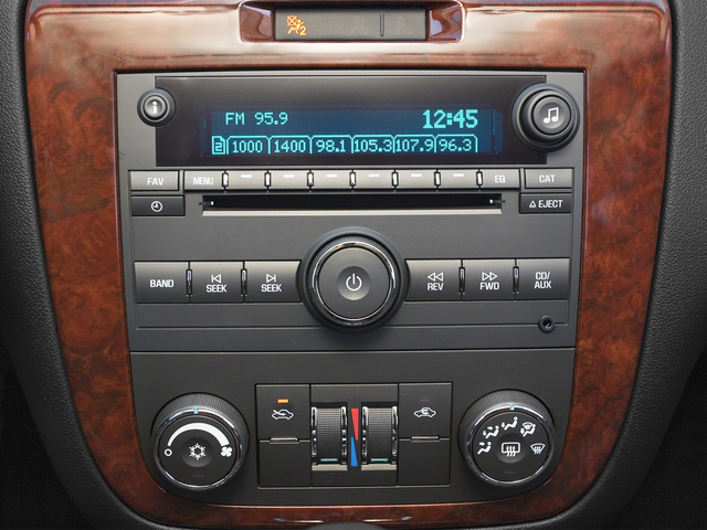 2015 Chevrolet Impala Limited Prices and Values Sedan 4D LS V6 stereo system