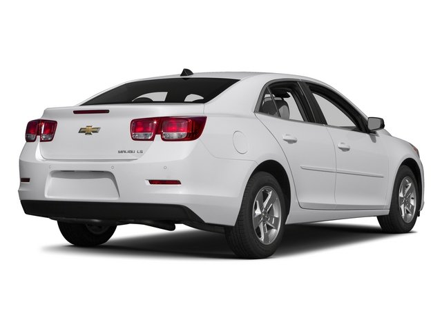 2015 Chevrolet Malibu Prices and Values Sedan 4D LS I4 side rear view