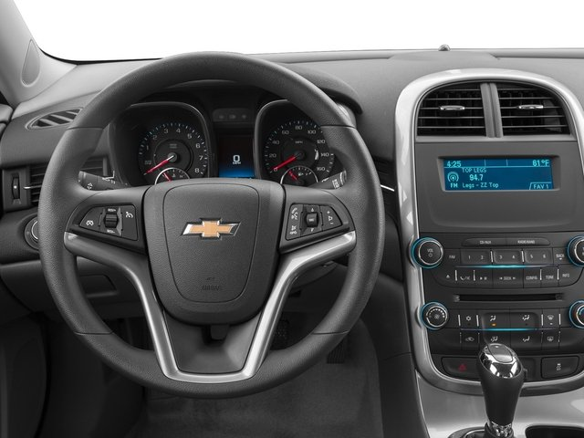 2015 Chevrolet Malibu Prices and Values Sedan 4D LS I4 driver's dashboard
