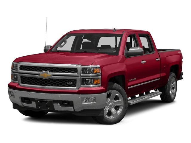 2015 Chevrolet Silverado 1500 Prices and Values Crew Cab LS 2WD side front view