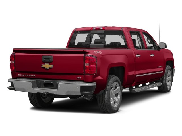 2015 Chevrolet Silverado 1500 Prices and Values Crew Cab LTZ 4WD side rear view